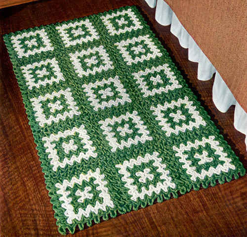 Crochet Rugs Pattern Crochet Club