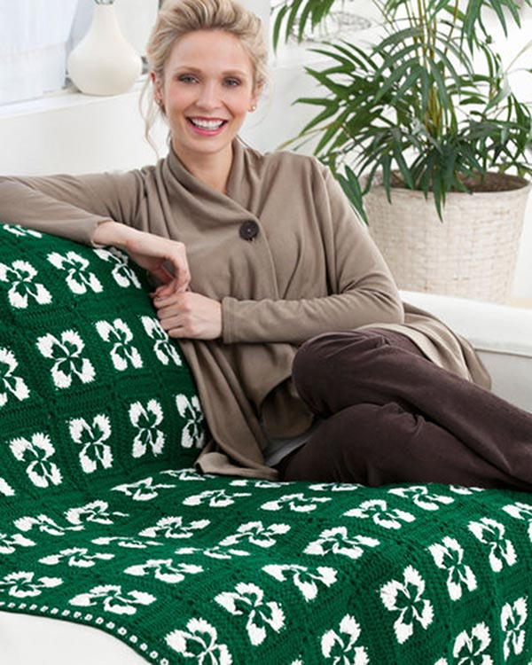 LW3045-Lucky-Clover-Throw-optw