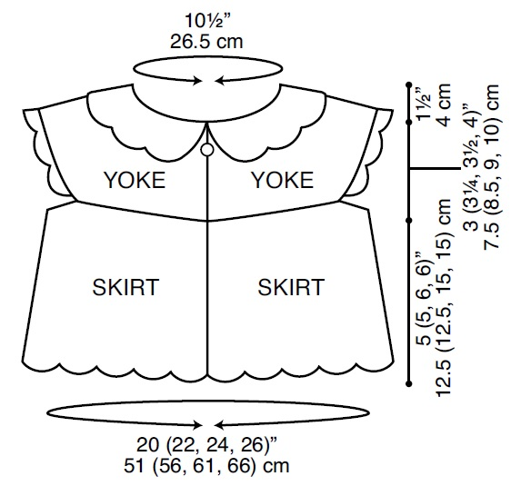 LW3506-Flower-Petal-Sweater-Headband-Diagram
