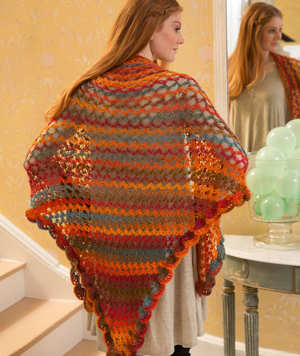Summer Of Love Shawl