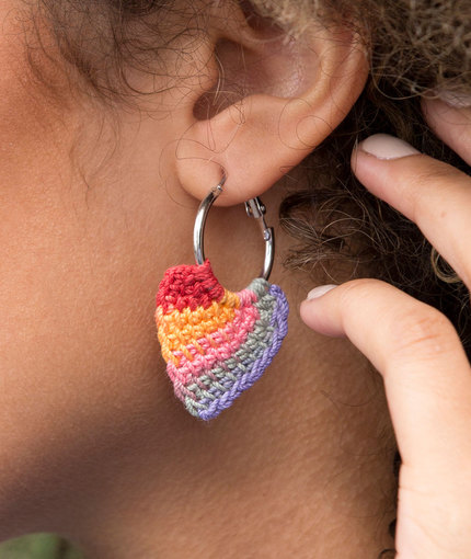 tunisian hoop earring