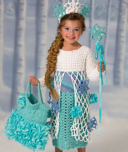 snow princess dress
